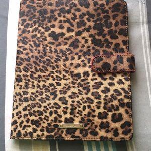 Stella dot cheetah print iPad case